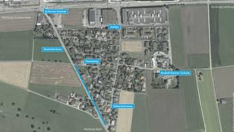 Auf einer Länge von 275 Metern bleibt die Seetalstrasse auch in Zukunft ohne Trottoir. Die Bevölkerung wies den Kredit an der Wintergmeind ab.