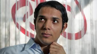 Amr Abdelaziz engagiert sich für die ägyptische Revolution. Chris Iseli
