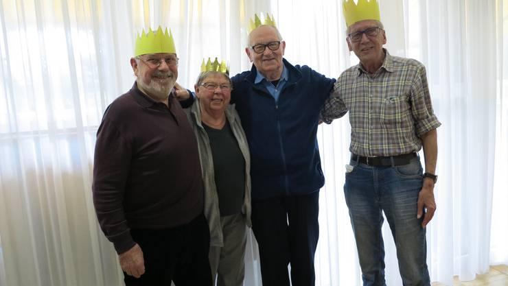 Peter Probst, Kirsten Baumann, Max Lützelschwab, Alvin Schwendemann (Ruth Hunziker fehlt)