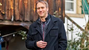 Gemeindeammann Andreas Thommen vor seinem Heim.