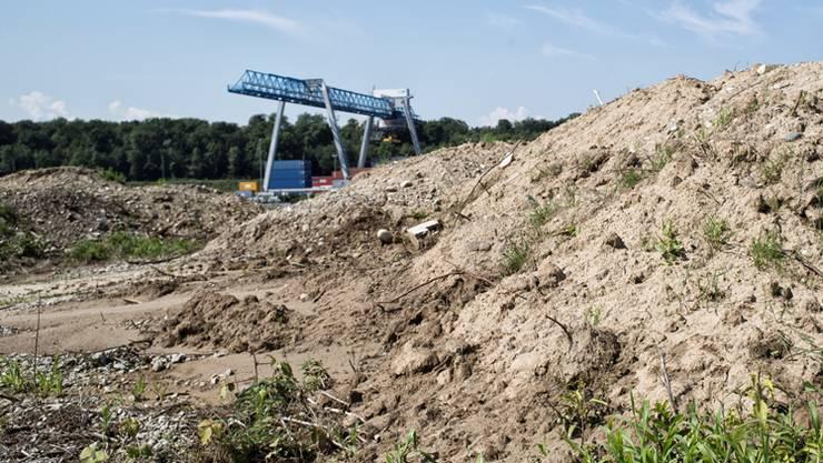 Beim BASF-Teil der Kesslergrube sind Einkapselung und hydraulische Sicherung vorgesehen.