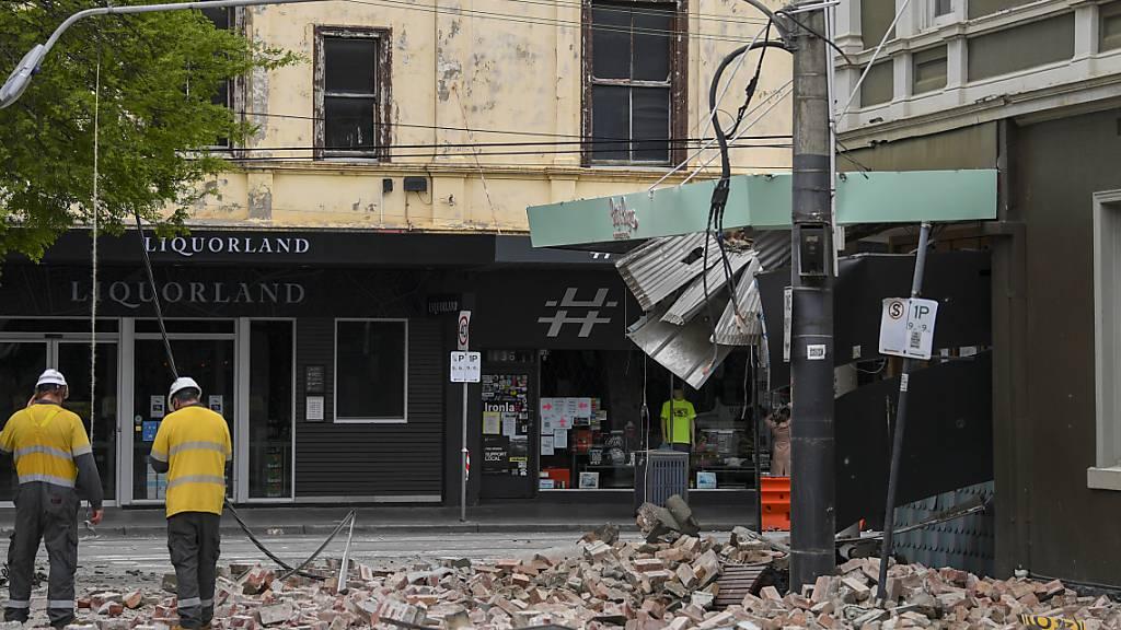 Erdbeben der Stärke 6,0 nahe Melbourne