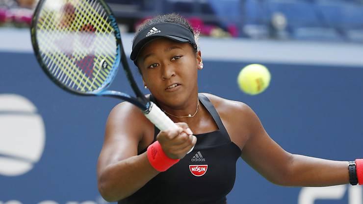 Naomi Osaka erreichte als erste Japanerin seit 1996 einen Halbfinal an einem Grand-Slam-Turnier