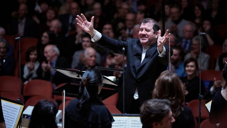 Ivor Bolton, Chefdirigent Sinfonieorchester Basel