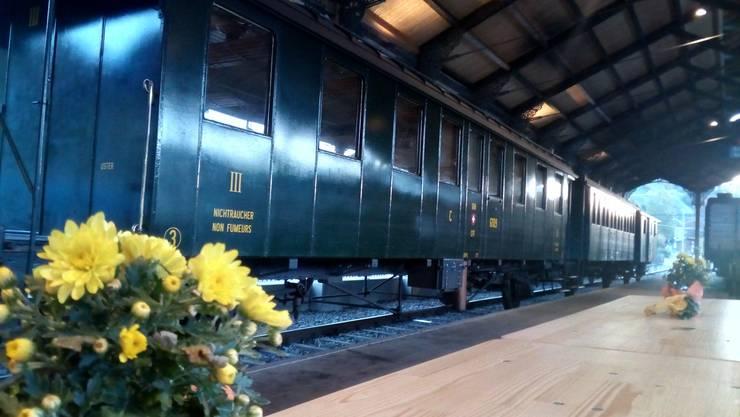 Am DVZO Fahrzeugtreffen wurden auch historische Schienenfahrzeuge aus der WAGI der Bevölkerung gezeigt. © WAGI Museum