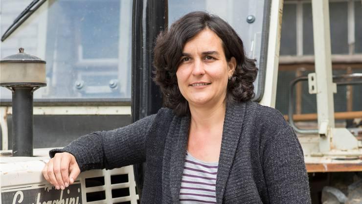 Mirjam Markwalder erholt sich auf dem Bauernhof ihrer Eltern vom Auslandeinsatz.