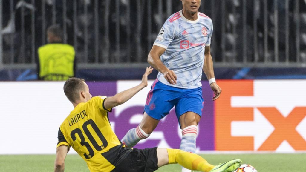 Fünf Tage nach dem Duell mit Manchester United und Cristiano Ronaldo muss YB im Cup in der Provinz antreten