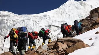 Auf zum Gipfelabenteuer: Der Weg auf die Spitze des über 7000 Meter hohen Himlung Himal ist lang und beschwerlich.Tommy Dätwyler