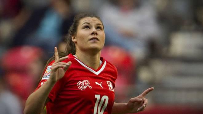 Ramona Bachmann ist die beste Fussballerin der Schweiz. Foto: Getty Images