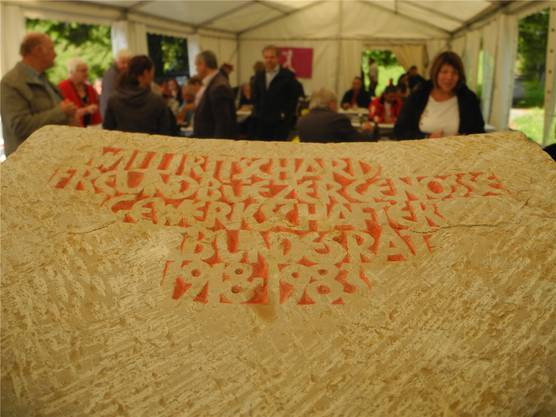Aus Anlass des 100. Geburtstags setzten SP und Gewerkschafter «ihrem« Willi Ritschard auf dem Balmberg jüngst ein Dankmal.