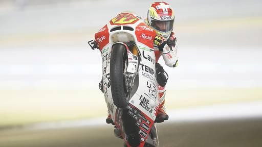 Aegerter vor seinem vorläufig letzten Moto2-Rennen