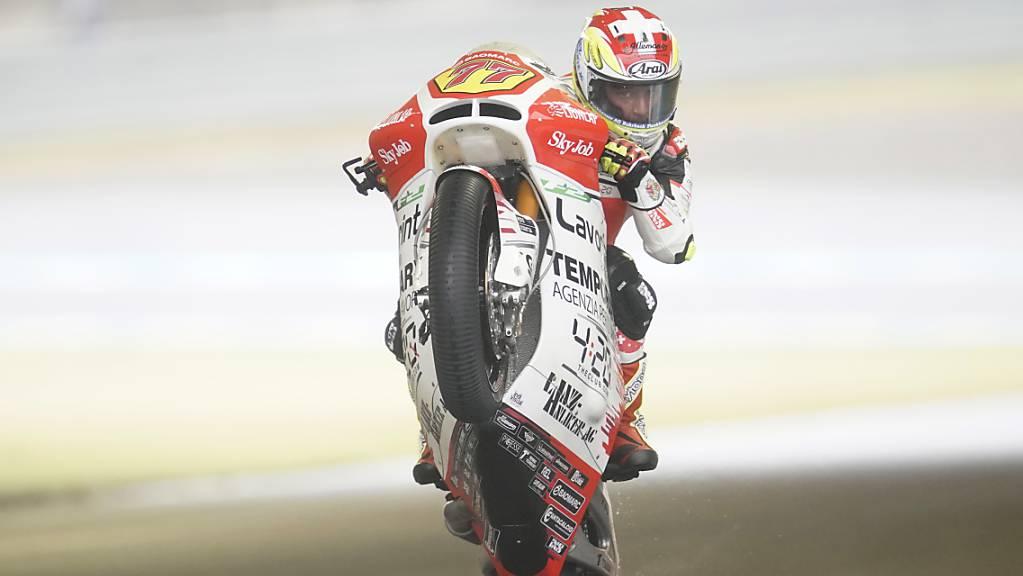 Dominique Aegerter fährt in der nächsten Saison nicht mehr in den Moto2