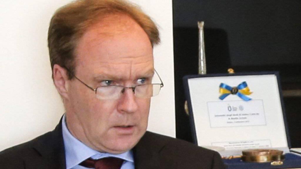 Der zurücktretende britische Top-Diplomat Sir Ivan Rogers gilt als EU-freundlich. (Archivbild)