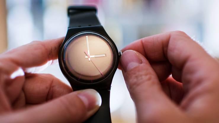 Swatch konnte weniger Uhren verkaufen als letztes Jahr. (Symbolbild)