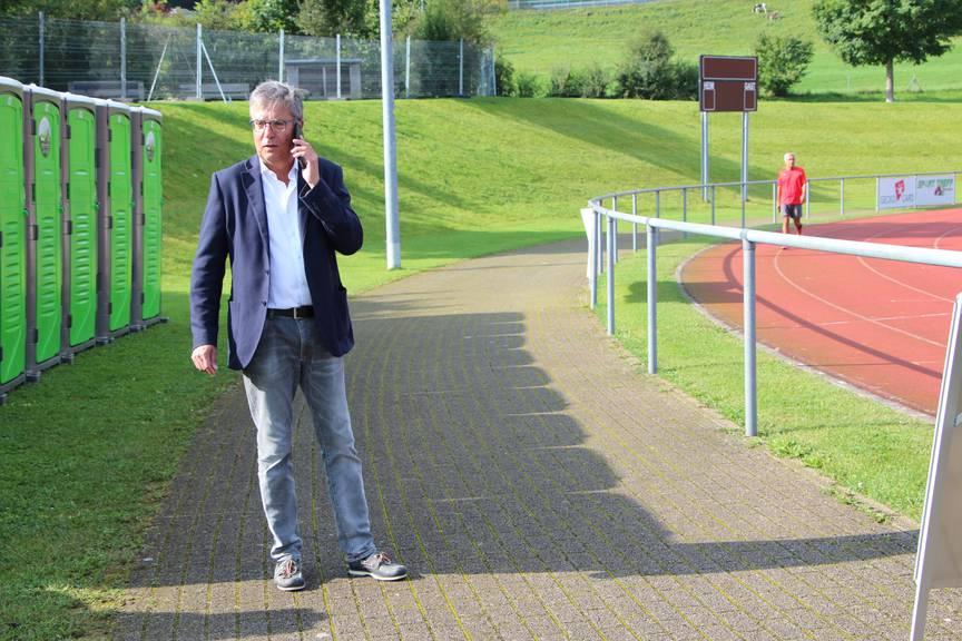 Dieser Tage ein vielbeschäftiger Mann: Vereinspräsident Markus Hundsbichler.