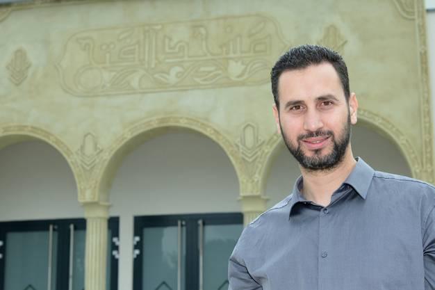 Souheil Boussalem ist der Präsident des Vereins «Espérance», der den Bau voran getrieben hat.