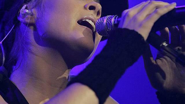 Die Berner Sängerin Jaël (Archiv)