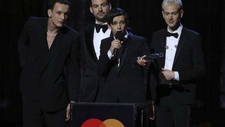 Die Band The 1975 hat bei den Brit Awards am Mittwochabend gleich mehrere Preise gewonnen.