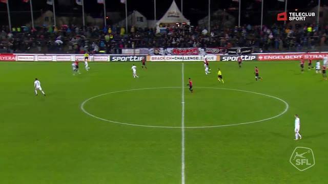 Challenge League 2018/19, Runde 17, FC Aarau - Vaduz, 2:0 von Marco Schneuwly