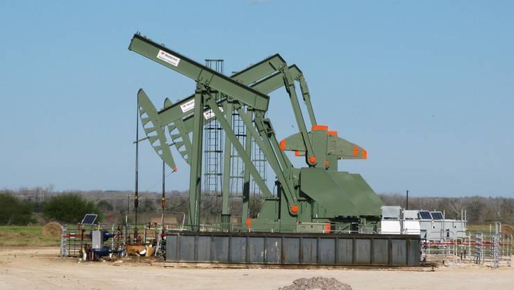 Amerikanische Schieferölförderer wie hier in Texas fahren ihre Produktion hoch.Anna Driver/Reuters