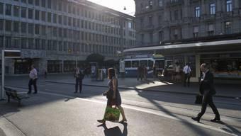 Banken am Paradeplatz in Zürich. (Symbolbild)