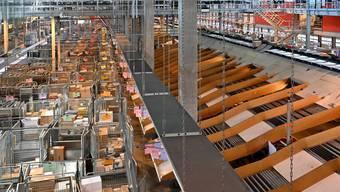 20 Jahr-Jubiläum Paketzentren der Post - Paketzentrum Härkingen