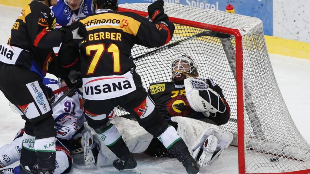 Der SC Bern kann den donnerstäglichen Sieg über die ZSC Lions nicht bestätigen und verliert daheim das «Rückspiel» gegen die Zürcher