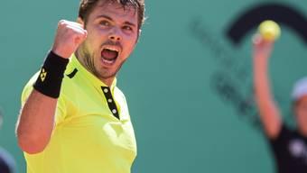 Stan Wawrinka ballt in Genf die Siegerfaust