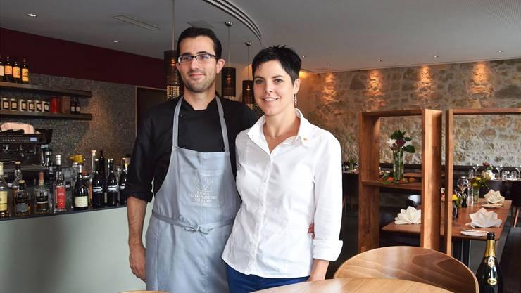 Küchenchef Andri Casanova und Gastgeberin Kathrin Spillmann haben das kulinarische Angebot in Brugg wertvoll ergänzt. Sie führen mittlerweile das Restaurant mit den meisten «Gault Millau»-Punkten im Bezirk.