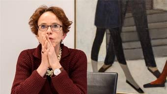 Eva Herzog darf sich grosse Chancen auf den Einzug ins Stöckli ausrechnen.