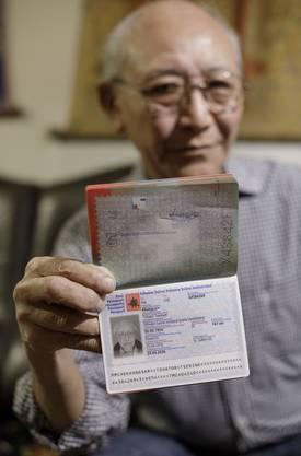Opfer der Bürokratie: Tshator Khangsar wird sein kryptisches Geburtsdatum nicht los.