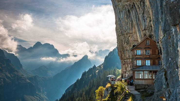 «Schönster Ort der Erde» oder «interessantestes Restaurant der Welt». Es gibt kaum einen Titel, den das Berggasthaus Äscher nicht für sich in Anspruch nehmen kann.