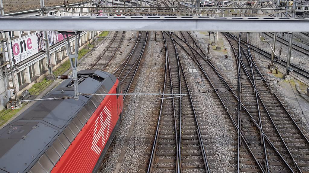 Bahnverkehr zwischen Olten und Luzern vorübergehend eingeschränkt