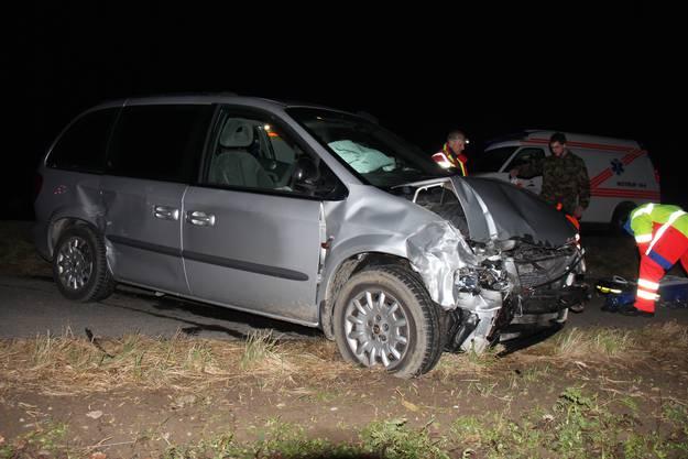 Im zweiten am Unfall beteiligten Auto sass eine Familie.