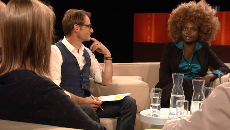 In der Sendung Club des Srf machte sich unter anderem Yvonne Apiyo Brändle Amolo auf die Suche nach dem guten Schweizer.
