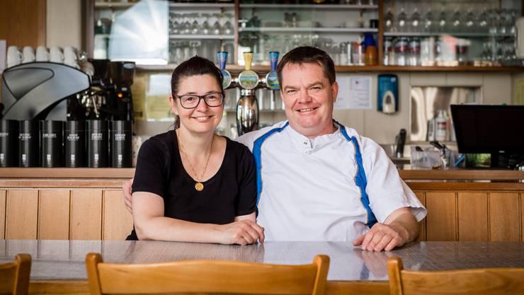 Gastgeber Jeannine und Marcel Schilder (Krone Schnottwil).