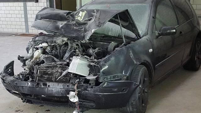 Horror-Crash beendet Flucht vor Polizei
