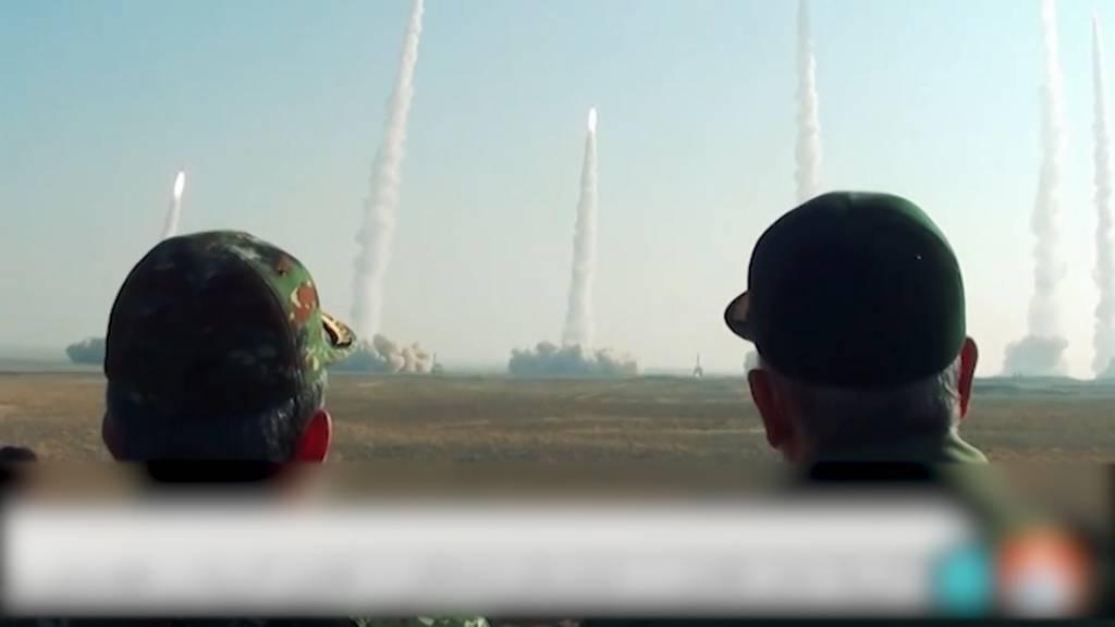 Iran testet Raketen bei Militärübungen am Golf