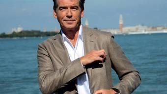 Kriegte den 007 fast nicht mehr weg: Pierce Brosnan (Archiv)