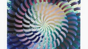 «Shell», 2018. Die raffinierte Raumwirkung entsteht dank zweier Schichten.