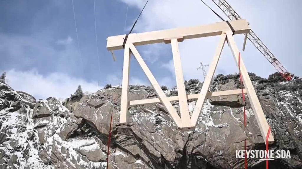 Aufbauarbeiten für Böögg-Verbrennung haben begonnen