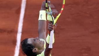 Rafael Nadal gab einen Satz ab, zog aber trotzdem souverän in die Achtelfinals ein