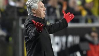 Carlo Ancelotti und die Bayern durchleben ein sportliches Tief