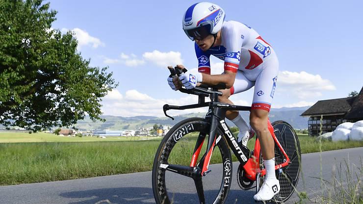 Eine Magen-Darm-Grippe stoppt den Walliser Sébastien Reichenbach an der Tour de Suisse