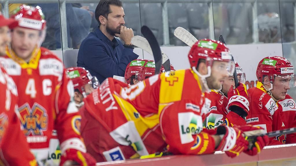 EHC Biel in Quarantäne - keine Spiele in dieser Woche