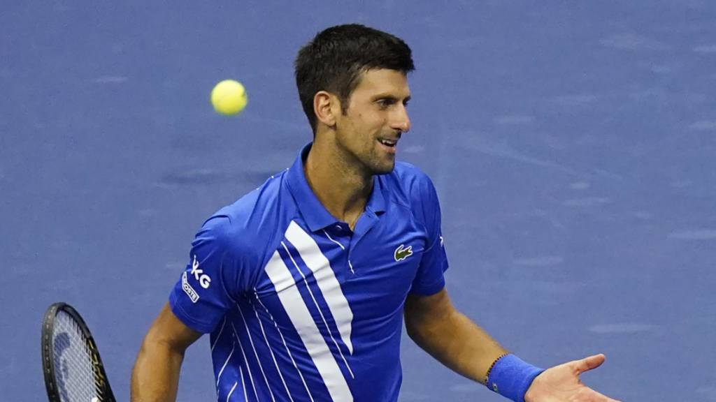 Novak Djokovic am US Open disqualifiziert