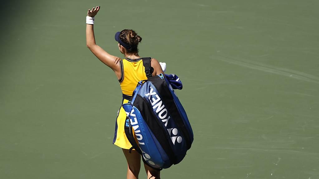 Belinda Bencic setzte trotz der enttäuschenden Niederlage im Viertelfinal ihren Aufwärtstrend auch am US Open fort