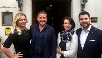 Simone Berchtold und Roman Oschwald verlassen das Haus,  Claudia Baki Vogl und Murat Baki übernehmen.