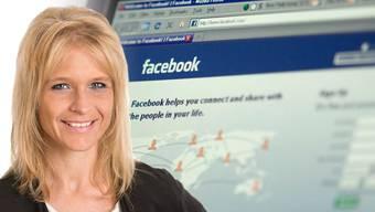 """Nicole Müller-Boder wurde in einem Internet-Kommentar als """"dummes Blondchen"""" bezeichnet."""