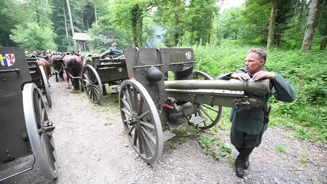 Kanonenschüsse über Luzern